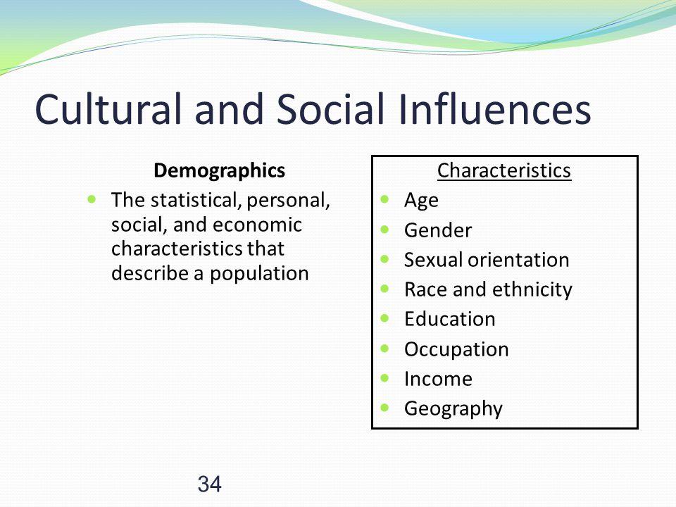 Cultural and Social Influences