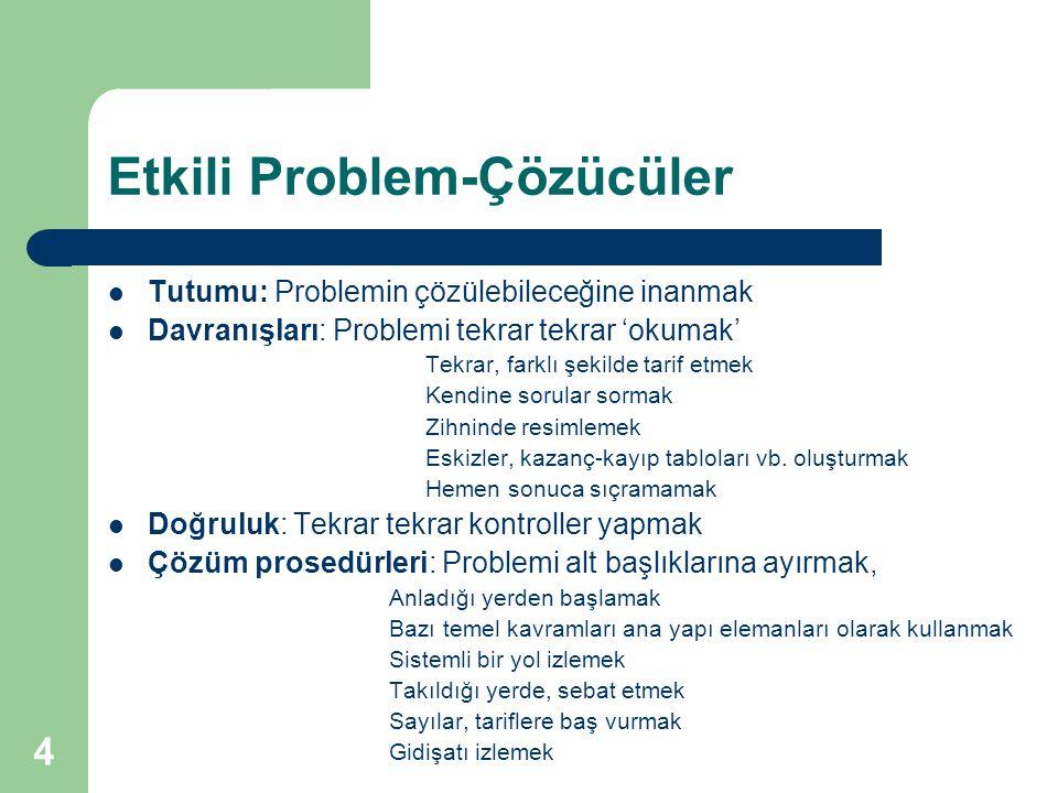 Etkili Problem-Çözücüler