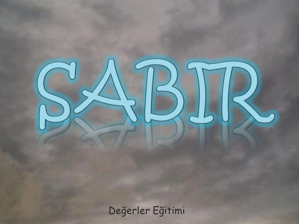 SABIR Değerler Eğitimi
