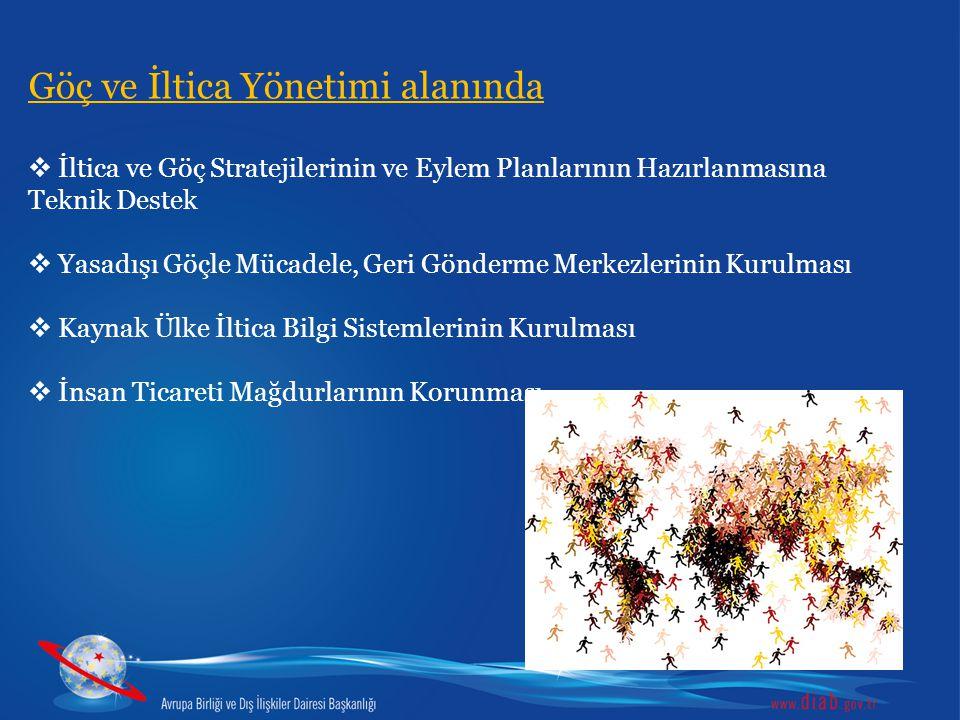 Göç ve İltica Yönetimi alanında