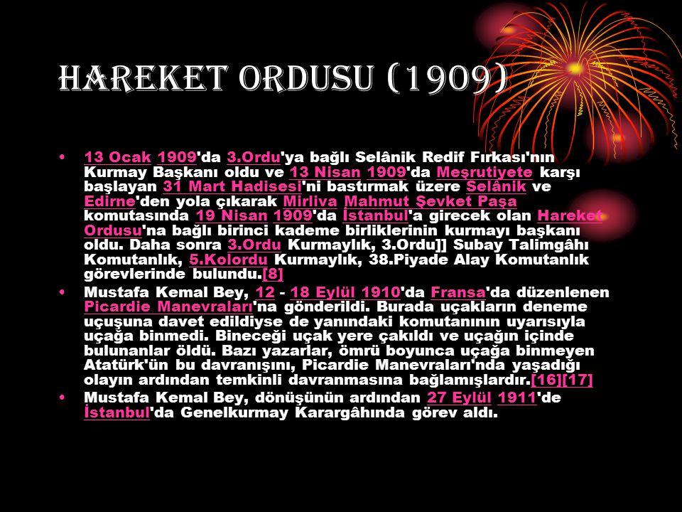 HAREKET ORDUSU (1909)