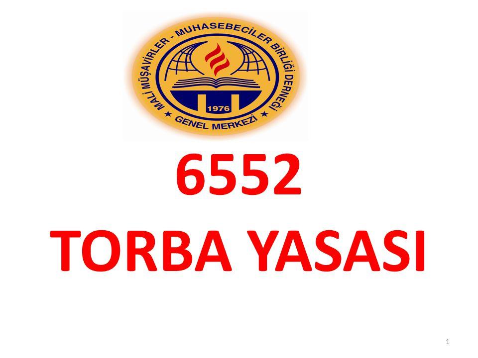 6552 TORBA YASASI