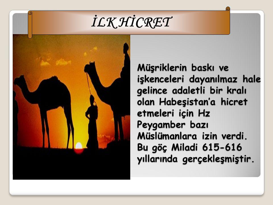 İLK HİCRET