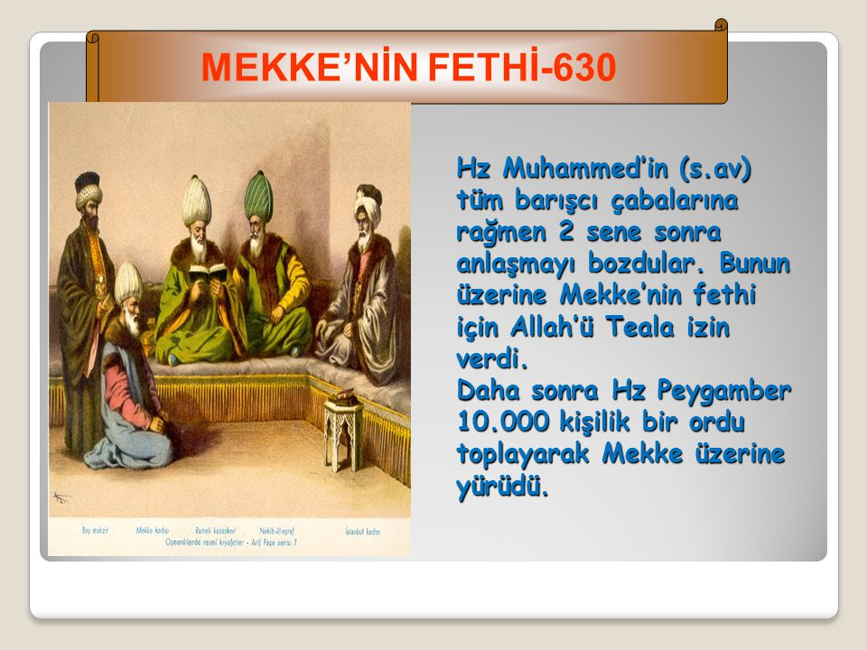 MEKKE'NİN FETHİ-630