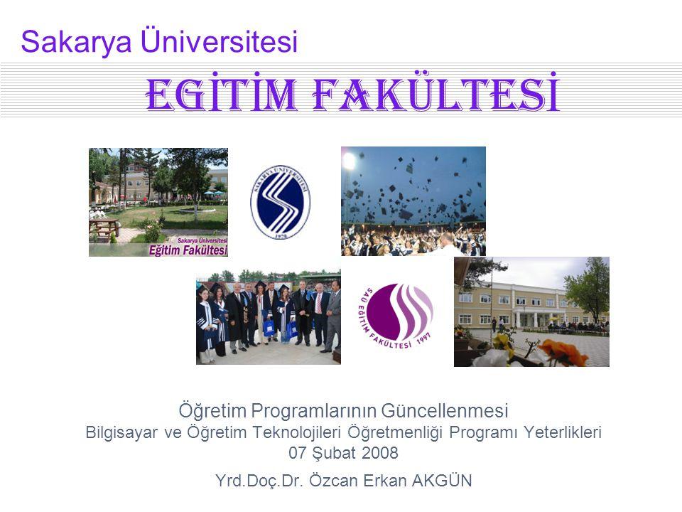 EGİtİm FAKÜLTESİ Sakarya Üniversitesi