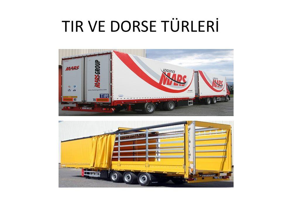 TIR VE DORSE TÜRLERİ