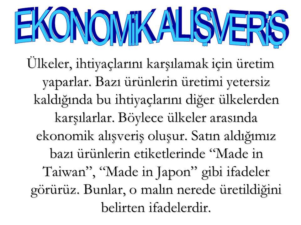 EKONOMiK ALISVERiS . .