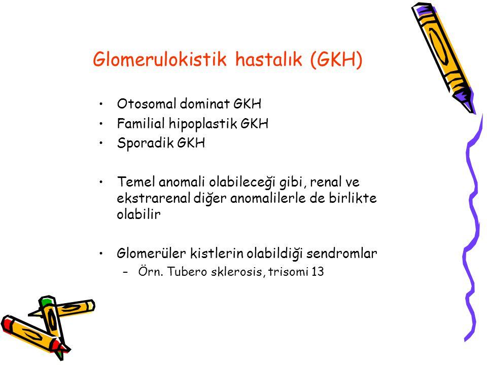 Glomerulokistik hastalık (GKH)