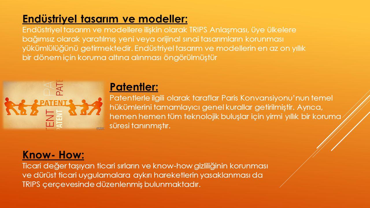 Endüstriyel tasarım ve modeller: