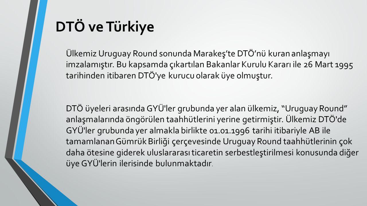 DTÖ ve Türkiye