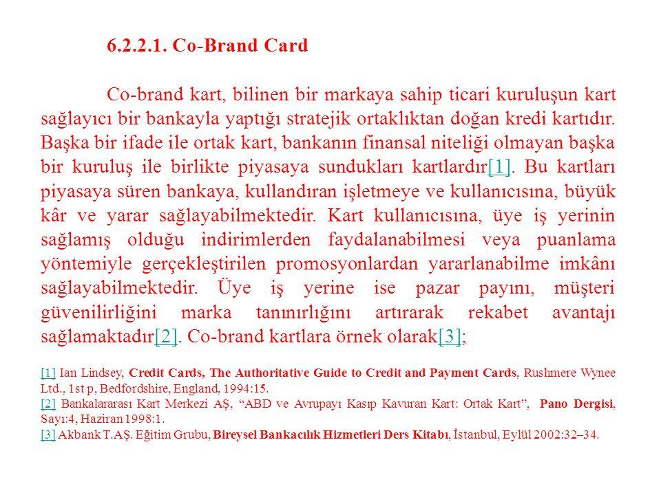 6.2.2.1. Co-Brand Card