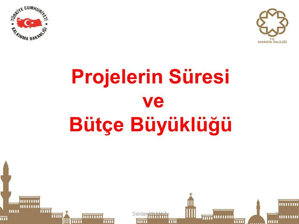 Projelerin Süresi ve Bütçe Büyüklüğü