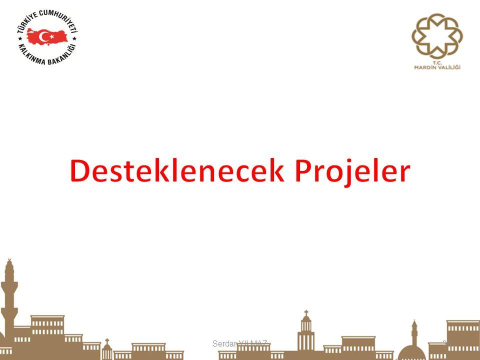Desteklenecek Projeler