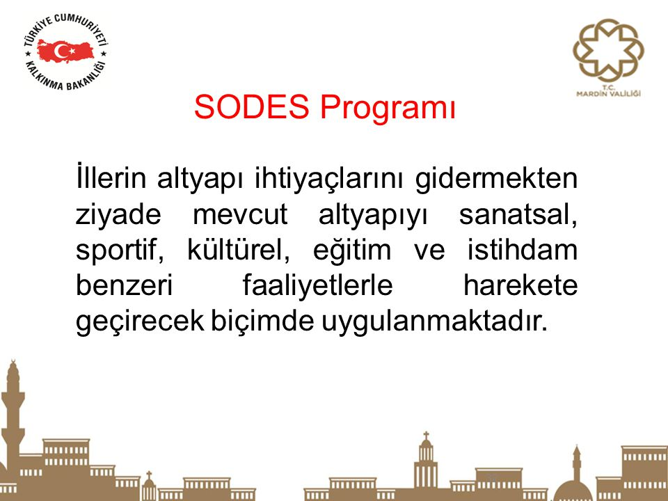 SODES Programı
