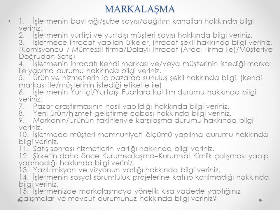 MARKALAŞMA