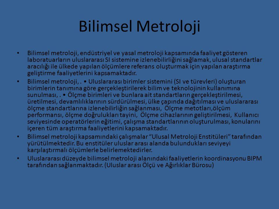 Bilimsel Metroloji
