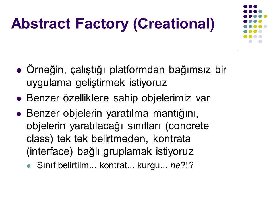 Abstract Factory (Creational)
