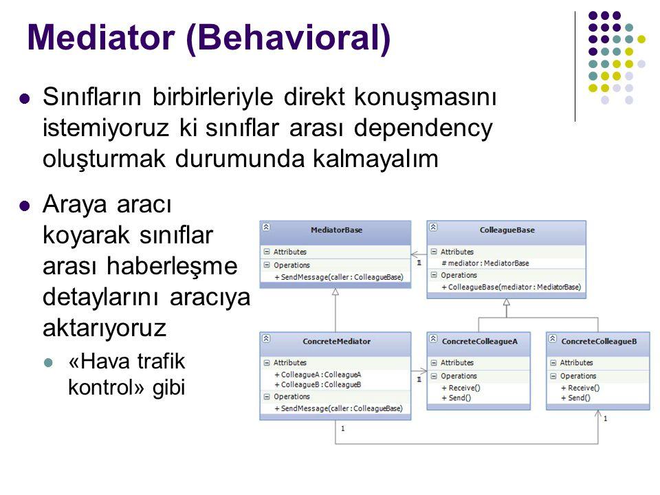 Mediator (Behavioral)