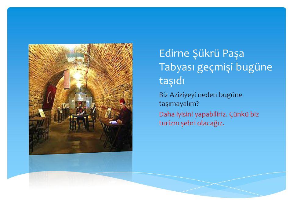 Edirne Şükrü Paşa Tabyası geçmişi bugüne taşıdı