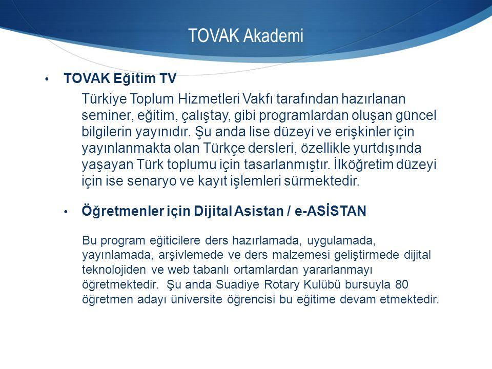 TOVAK Akademi TOVAK Eğitim TV