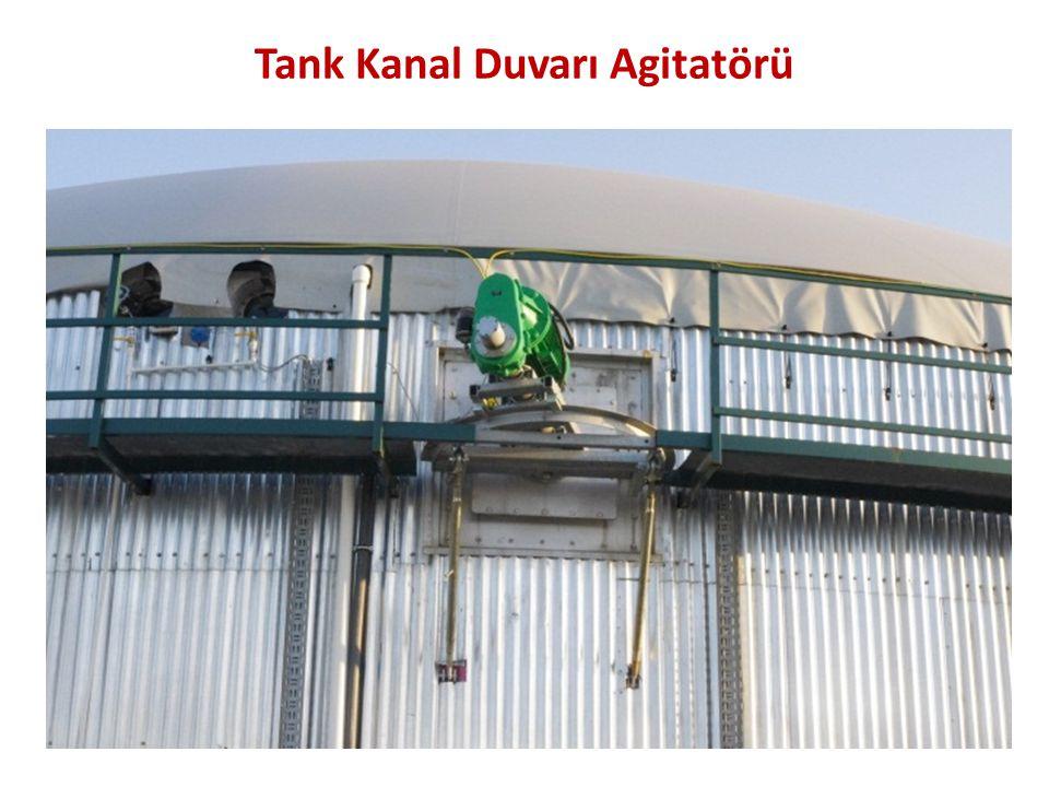 Tank Kanal Duvarı Agitatörü