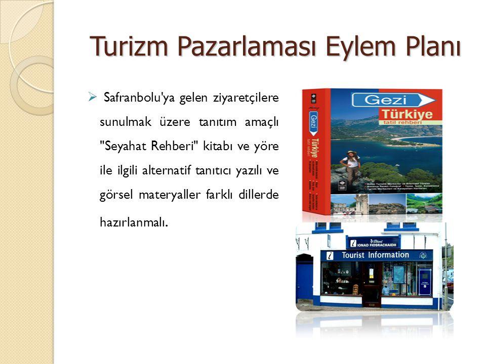 Turizm Pazarlaması Eylem Planı