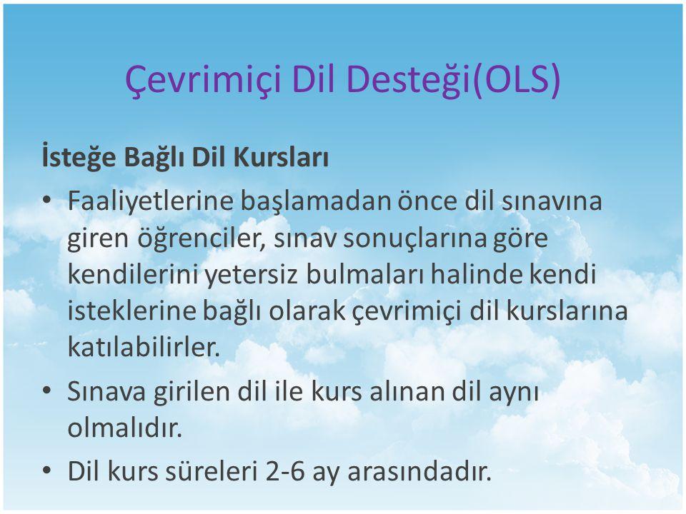 Çevrimiçi Dil Desteği(OLS)