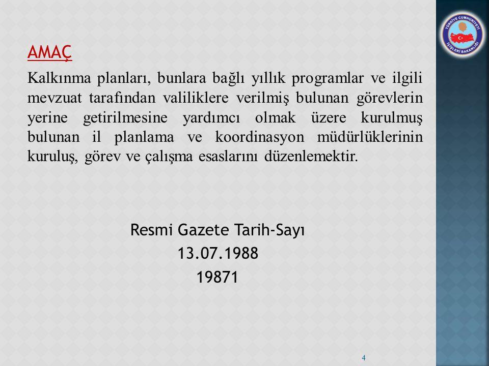 Resmi Gazete Tarih-Sayı
