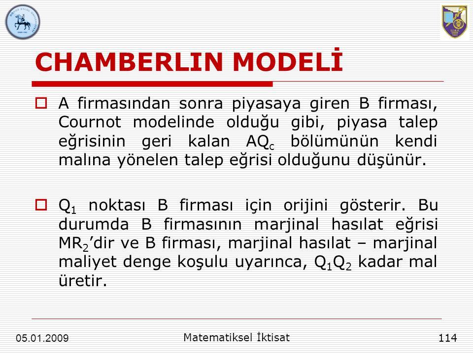 CHAMBERLIN MODELİ