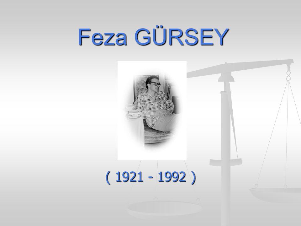 Feza GÜRSEY ( 1921 - 1992 )
