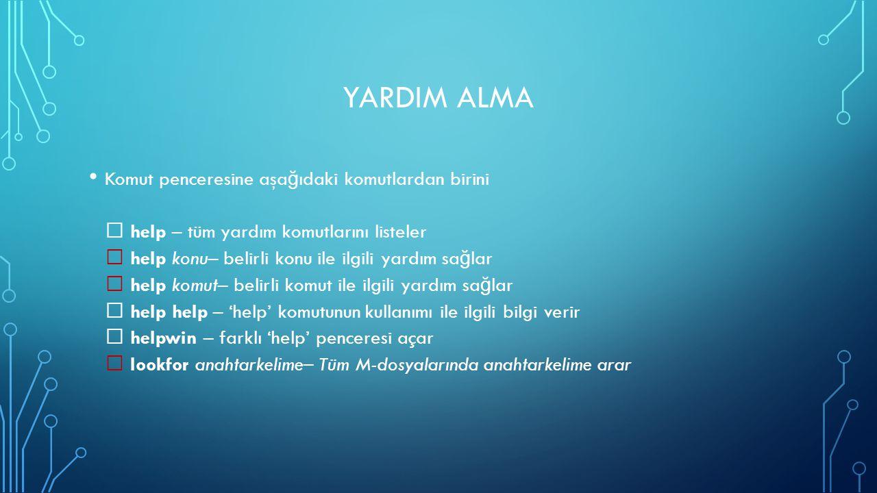 YARDIM ALMA