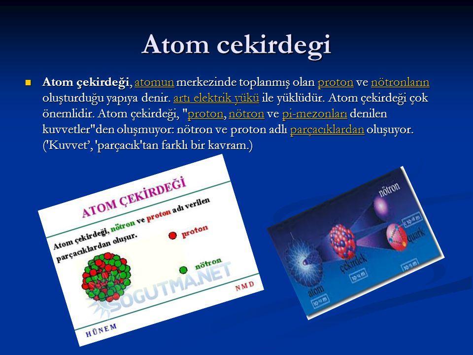 Atom cekirdegi
