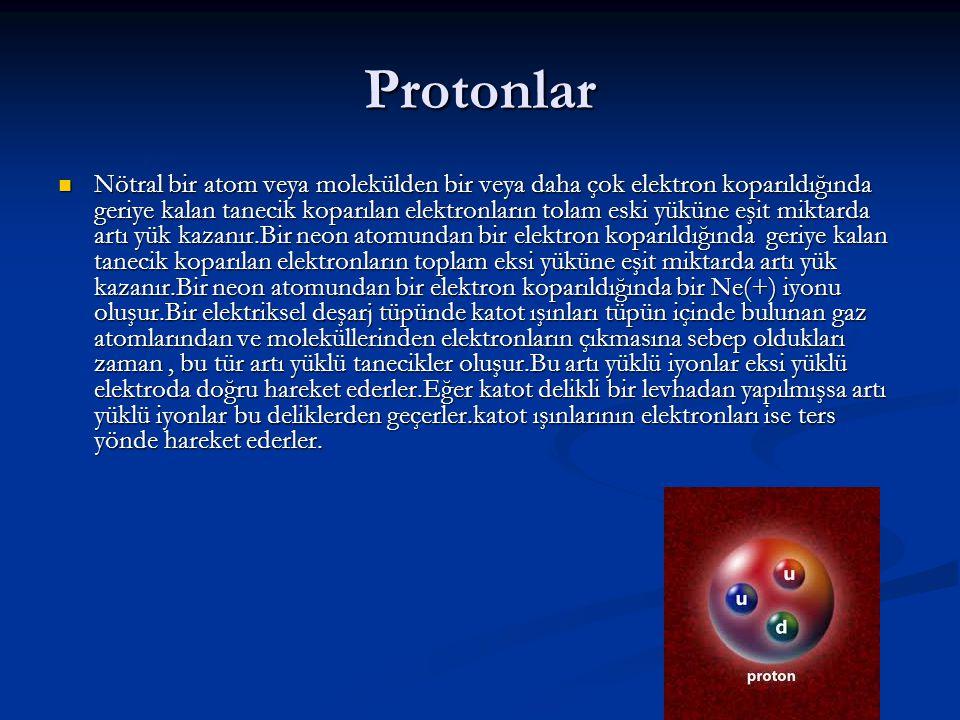Protonlar