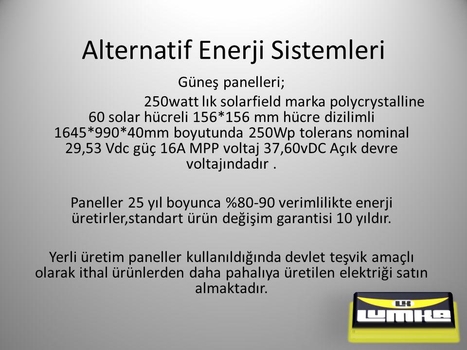 Alternatif Enerji Sistemleri