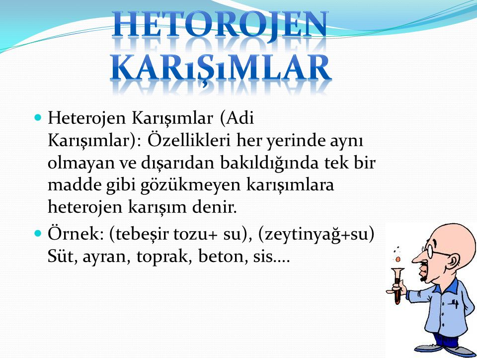 Hetorojen karışımlar