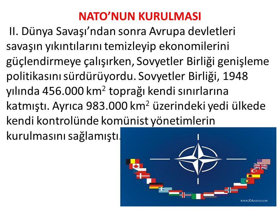 NATO'NUN KURULMASI