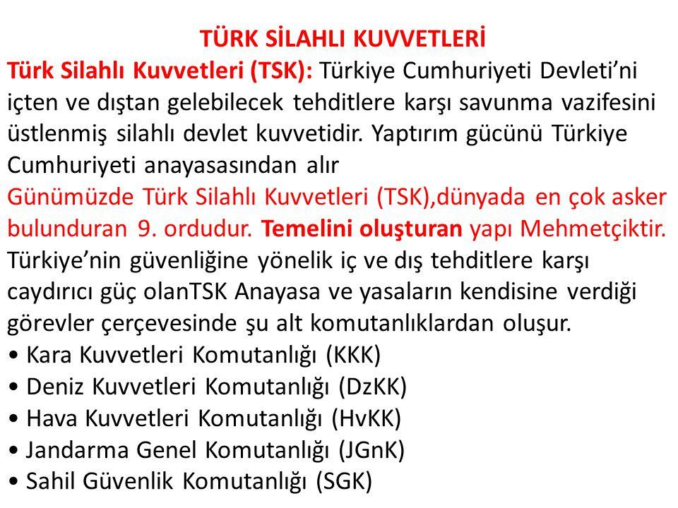 TÜRK SİLAHLI KUVVETLERİ