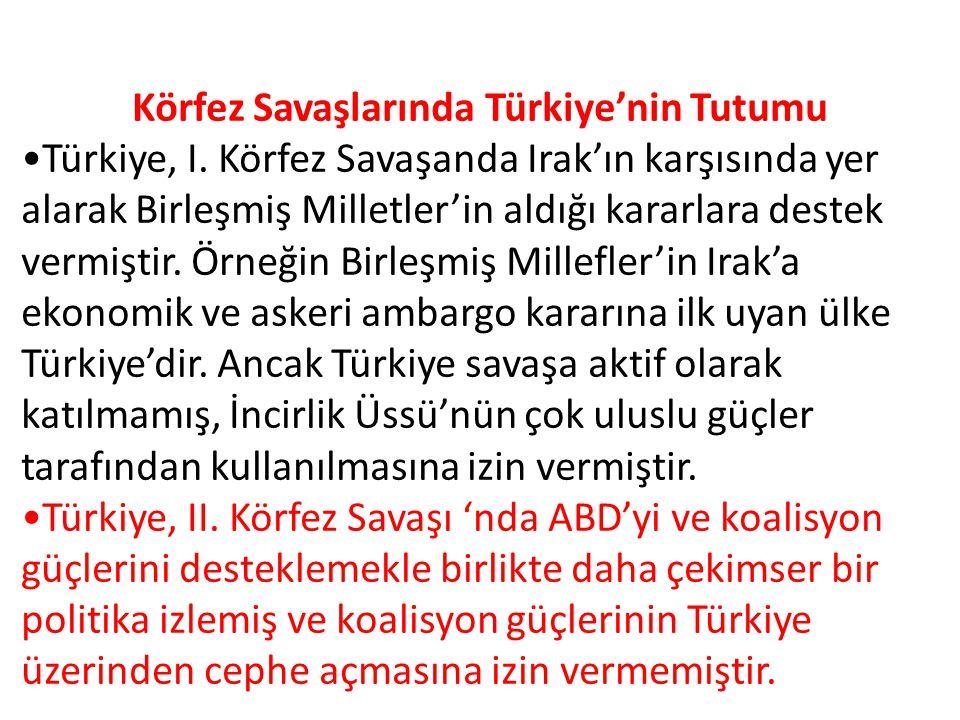 Körfez Savaşlarında Türkiye'nin Tutumu