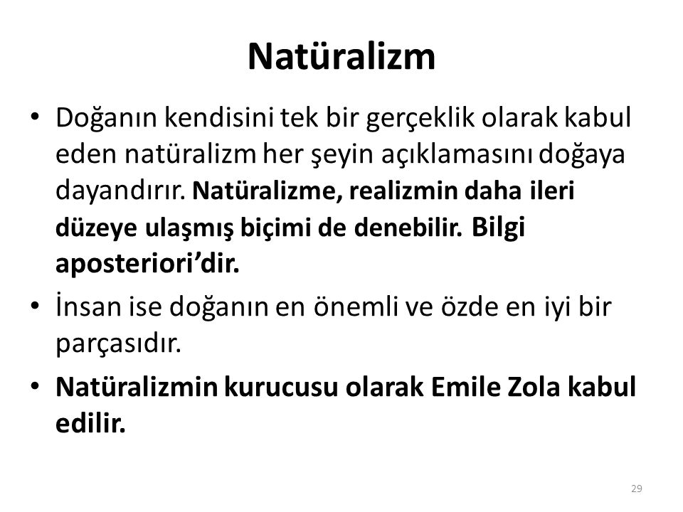 Natüralizm