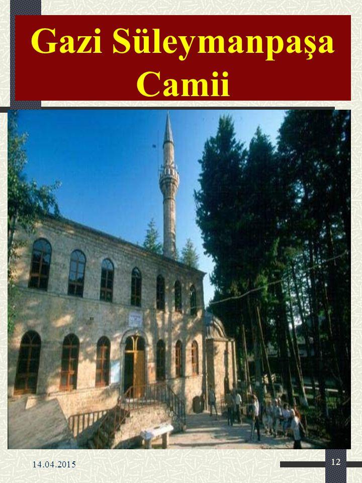 Gazi Süleymanpaşa Camii