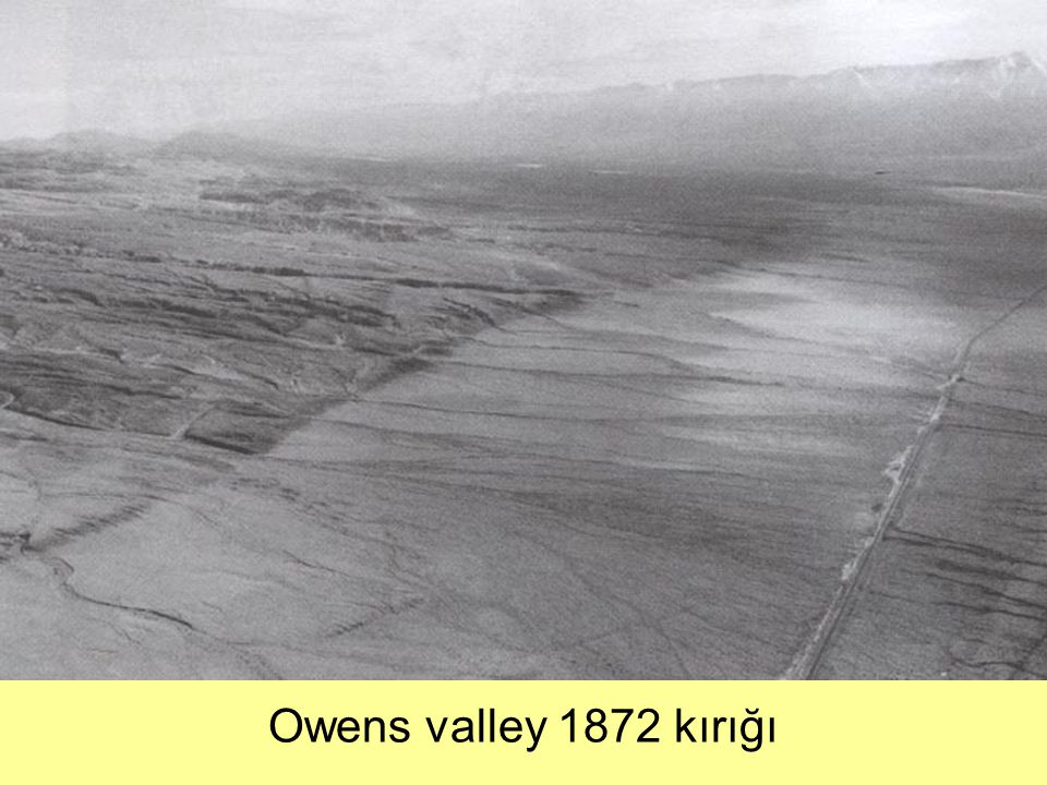 Owens valley 1872 kırığı