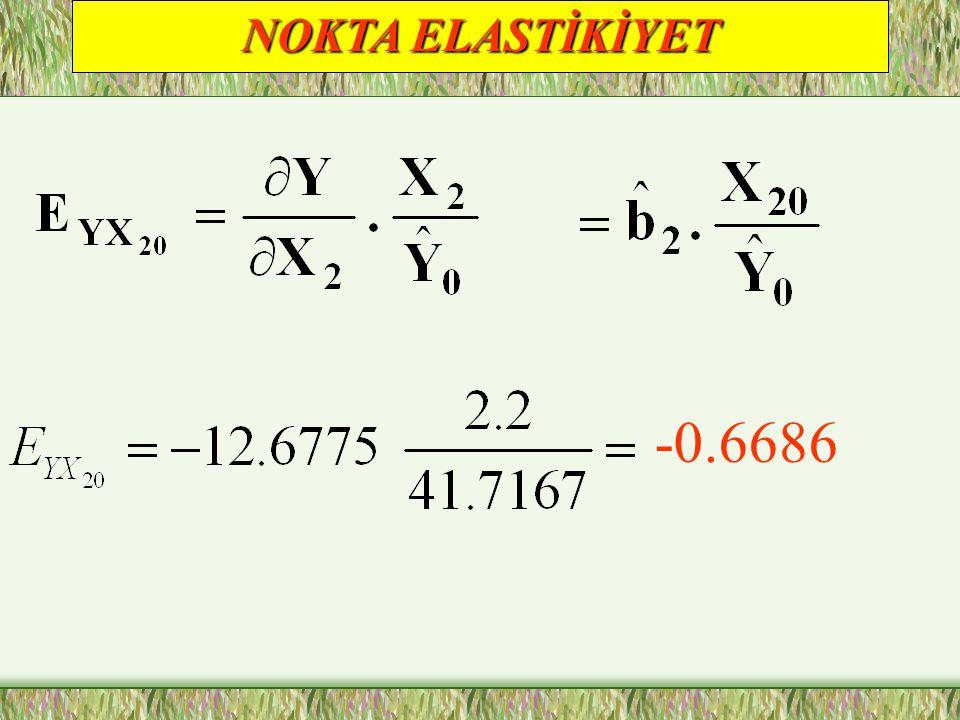NOKTA ELASTİKİYET -0.6686