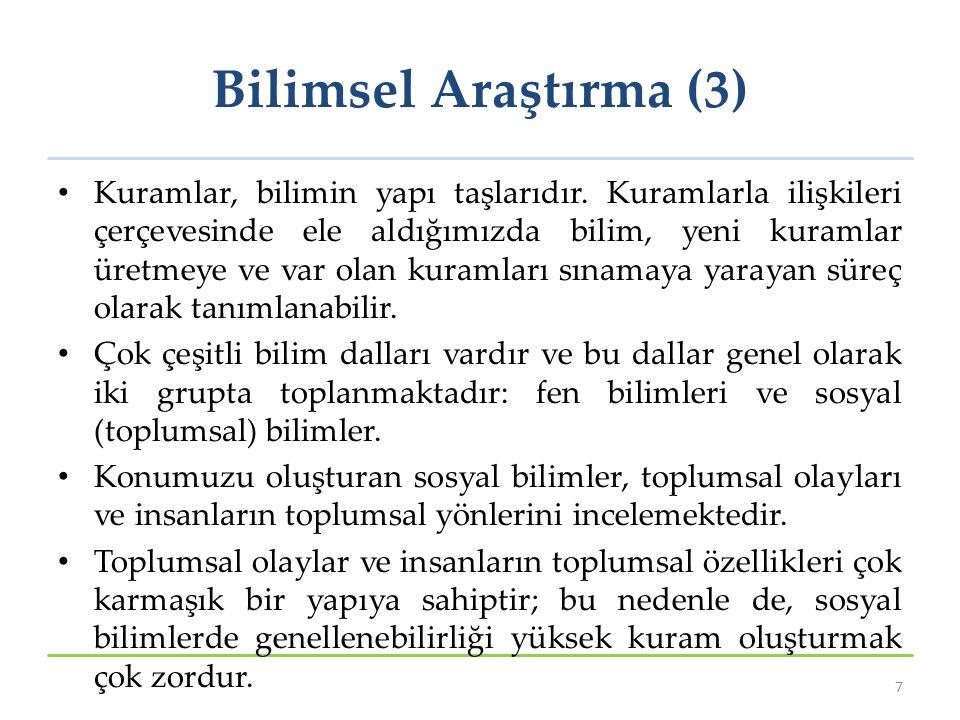 Bilimsel Araştırma (3)