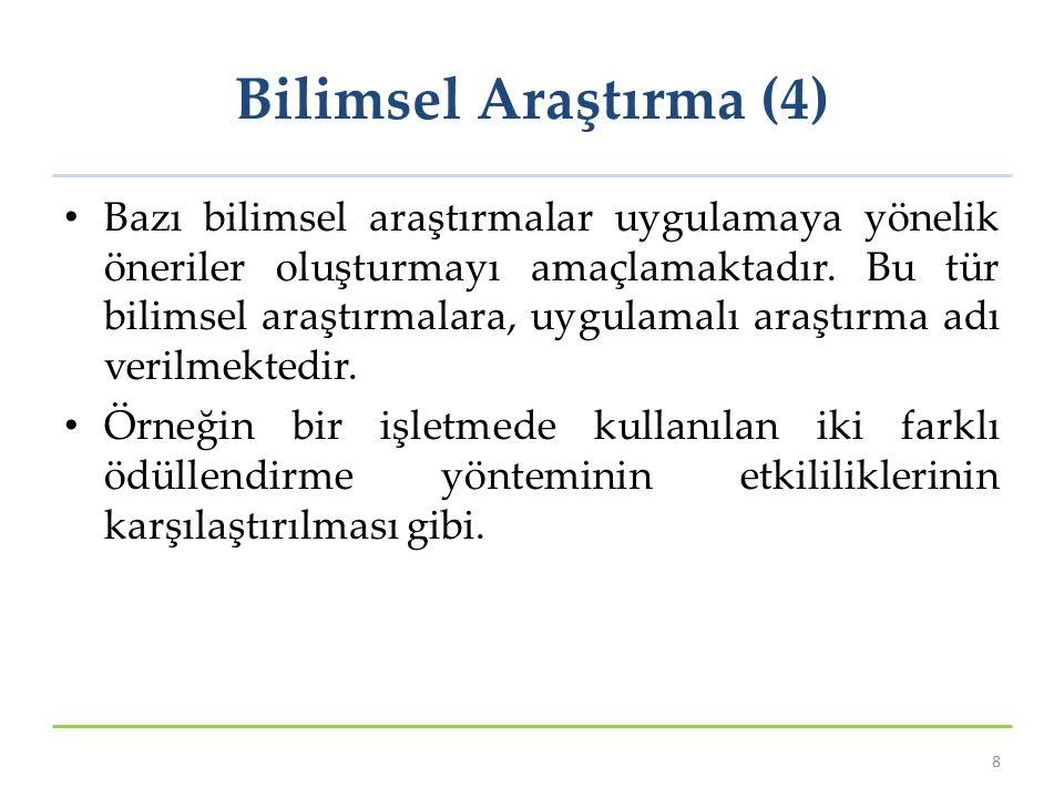 Bilimsel Araştırma (4)