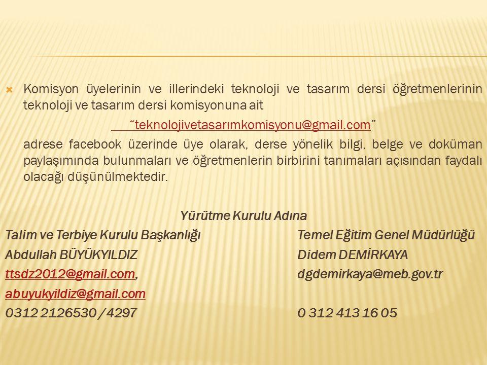 teknolojivetasarımkomisyonu@gmail.com
