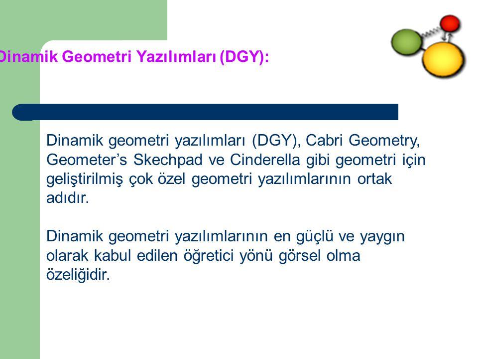 Dinamik Geometri Yazılımları (DGY):