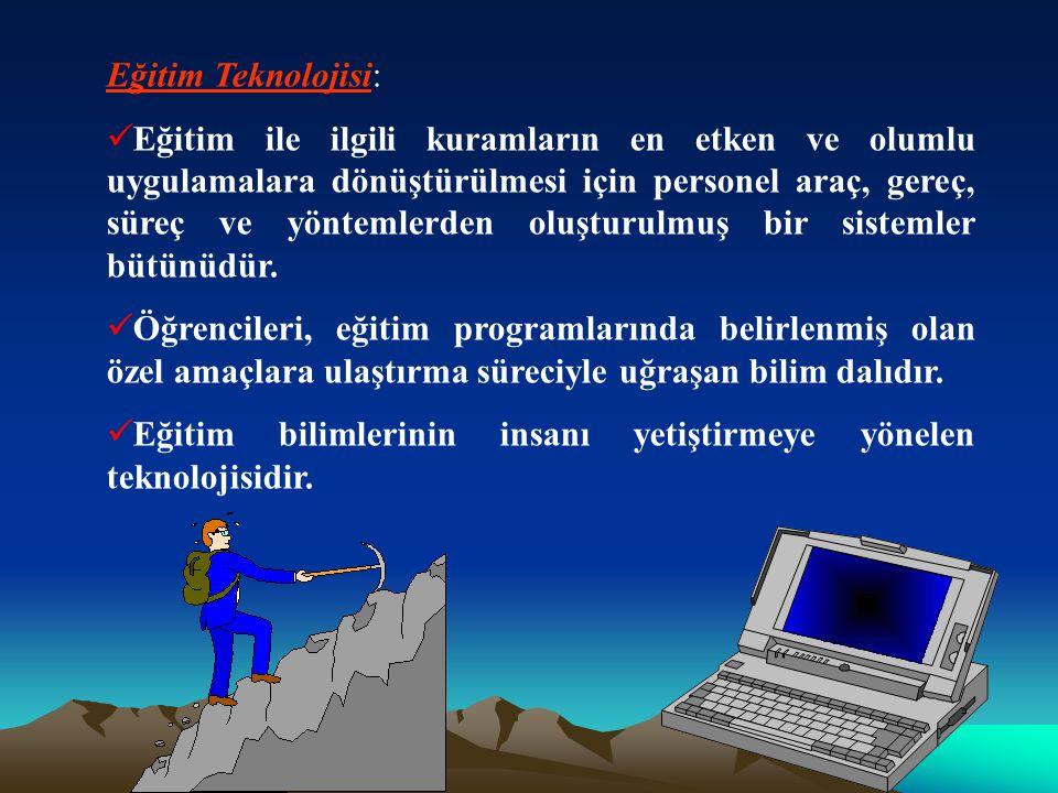 Eğitim Teknolojisi: