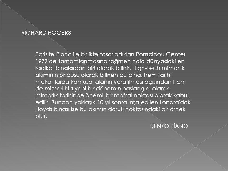 RİCHARD ROGERS