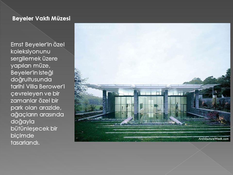 Beyeler Vakfı Müzesi