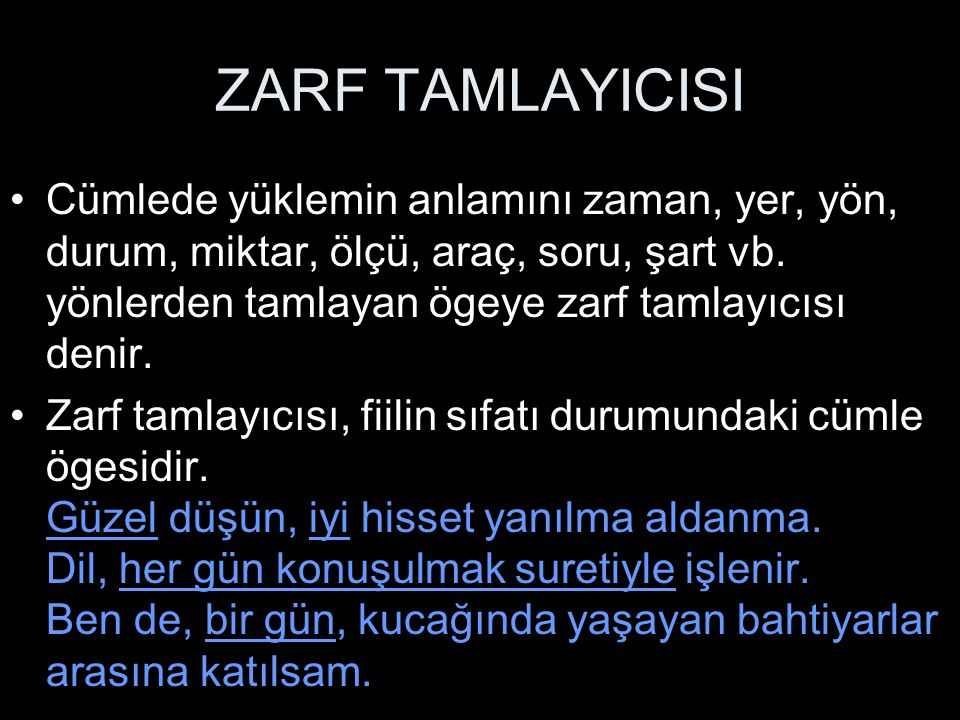 ZARF TAMLAYICISI